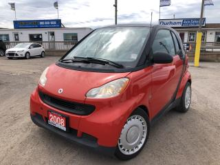 Used 2008 Smart fortwo Pure for sale in Whitby, ON