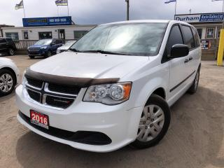 Used 2016 Dodge Grand Caravan CANADA VALUE PACKAGE for sale in Whitby, ON
