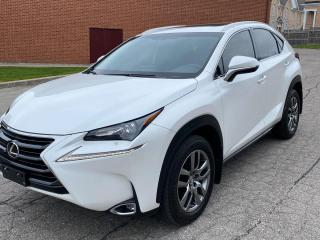 Used 2017 Lexus NX 200t LEATHER  ROOF  BLIS  H/V SEATS for sale in Ottawa, ON