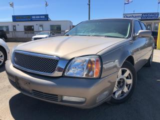 Used 2003 Cadillac DeVille DTS for sale in Whitby, ON