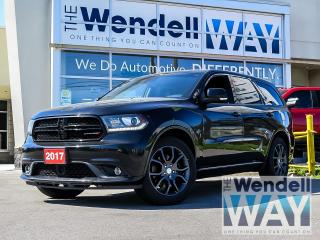 Used 2017 Dodge Durango R/T | Adaptive Cruise| Hemi| Sunroof for sale in Kitchener, ON
