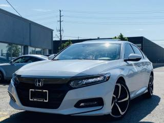 Used 2018 Honda Accord Sedan |SPORT|ADAPTIVE CRUISE|SUNROOF|LANE ASIST|LANE WATCH CAM! for sale in Brampton, ON