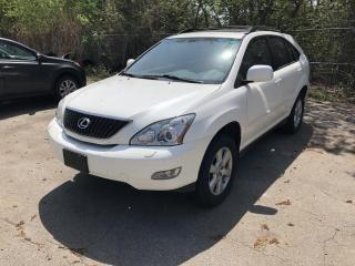 Used 2007 Lexus RX 350 4WD *NEEDS ENGINE* for sale in Nobleton, ON