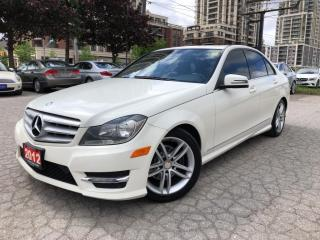 Used 2012 Mercedes-Benz C-Class 4dr Sdn 2.5L 4MATIC for sale in Markham, ON