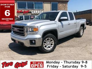 Used 2014 GMC Sierra 1500 4WD Double Cab Standard Box SLE Nice Trade In! for sale in St Catharines, ON