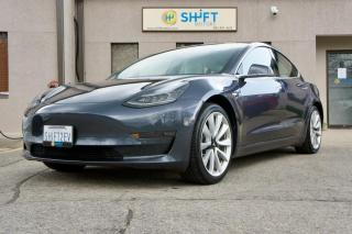 Used 2018 Tesla Model 3 LONG RANGE ALL WHEEL DRIVE ENHANCED AUTOPILOT, 19 INCH SPORT WHEELS for sale in Burlington, ON