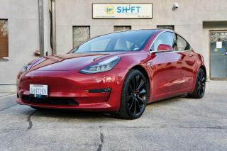 Used 2018 Tesla Model 3 PERFORMANCE ENHANCED AP, FULL SELF DRIVING, REFINISHED WHEELS for sale in Burlington, ON