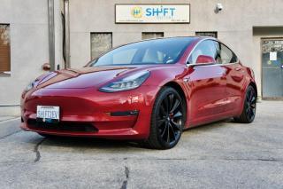 Used 2018 Tesla Model 3 PERFORMANCE ENHANCED AP, FULL SELF DRIVING, REFINISHED WHEELS for sale in Burlington, ON