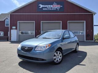 Used 2009 Hyundai Elantra Air Conditioning. Heated Seats. Undercoated! for sale in Dunnville, ON