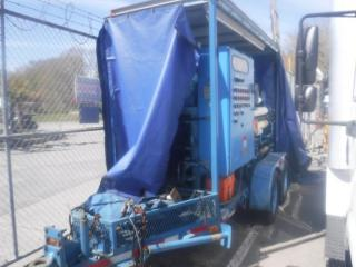 Used 1985 HOLLAND HV-1-1400 Tandem Axles High pressure Oil Pump Trailer for sale in Burnaby, BC