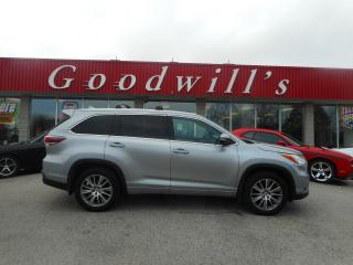 Used 2015 Toyota Highlander XLE! HEATED LEATHER! NAV! BLUETOOTH! SUNROOF! for sale in Aylmer, ON