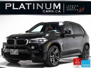 Used 2016 BMW X5 M V8 567HP, AWD, EXEC PKG, NAV, 360, MERINO, CARBON for sale in Toronto, ON