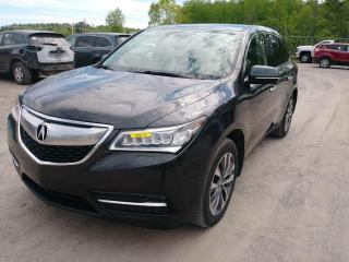 Used 2015 Acura MDX SH-AWD SIÈGES / VOLANT CHAUFF 7 PLACES NAV *CUIR* for sale in St-Jérôme, QC