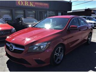 Used 2015 Mercedes-Benz CLA-Class CLA 250 4MATIC-NAVIGATION-CAMERA RECUL- for sale in Laval, QC