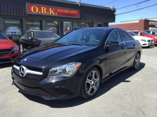 Used 2016 Mercedes-Benz CLA-Class CLA 250 4MATIC-NAVIGATION-CAMERA RECUL-BLUETOOTH for sale in Laval, QC