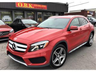 Used 2015 Mercedes-Benz GLA 4MATIC-NAVIGATION-CAMERA DE RECUL-BLUETOOTH for sale in Laval, QC