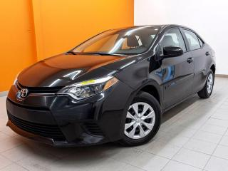 Used 2016 Toyota Corolla CE AUTOMATIQUE *BAS KM* A/C *BLUETOOTH* USB* PROMO for sale in St-Jérôme, QC