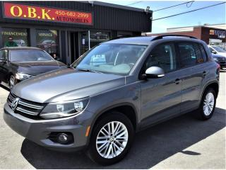 Used 2016 Volkswagen Tiguan 4MOTION-Special Edition-CAMERA DE RECUL-BLUETOOTH for sale in Laval, QC