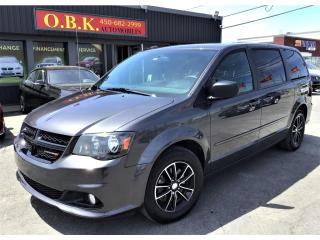 Used 2017 Dodge Grand Caravan SXT-DVD-CAMERA DE RECUL-8 X PNEUS-MAGS for sale in Laval, QC