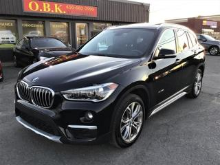 Used 2017 BMW X1 xDrive28i-TOIT OUVRANT PANORAMIQUE-CAMERA RECUL for sale in Laval, QC