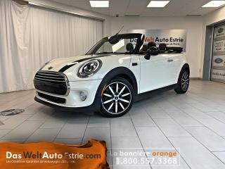 Used 2016 MINI Cooper CONVERTIBLE Convertible, Cuir, Automatique for sale in Sherbrooke, QC