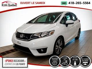 Used 2016 Honda Fit EX-L * GPS * TOIT * CUIR * 21107 KM * for sale in Québec, QC