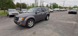 Used 2011 Ford Escape Limited for sale in Madoc, ON