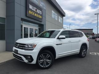 Used 2019 Volkswagen Atlas Execline 3.6 FSI 4MOTION for sale in St-Georges, QC