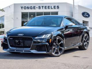 Used 2018 Audi TT RS Coupe for sale in Thornhill, ON