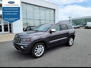 Used 2017 Jeep Grand Cherokee 4WD 4Dr Limited for sale in Victoriaville, QC