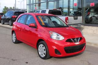 Used 2017 Nissan Micra SV AUTOMATIQUE MAIN LIBRE*AIR CLIMATISÉ for sale in Lévis, QC