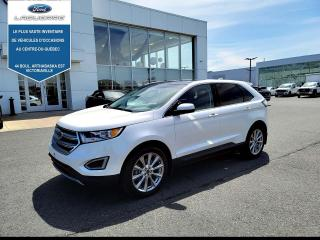Used 2017 Ford Edge 4DR TITANIUM AWD for sale in Victoriaville, QC