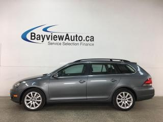 Used 2014 Volkswagen Golf 2.0 TDI Wolfsburg Edition - HTD LEATHER! NAV! PANOROOF! for sale in Belleville, ON