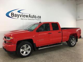 Used 2018 Chevrolet Silverado 1500 Silverado Custom - RWD! V6! ONSTAR! REVERSE CAM! 26,000KMS! for sale in Belleville, ON