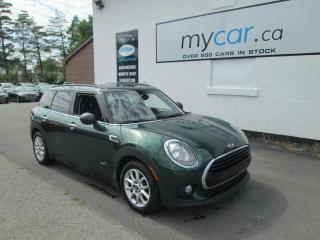 Used 2017 MINI Cooper Clubman Cooper SUNROOF, LEATHER, HEATED SEATS!!! for sale in Richmond, ON