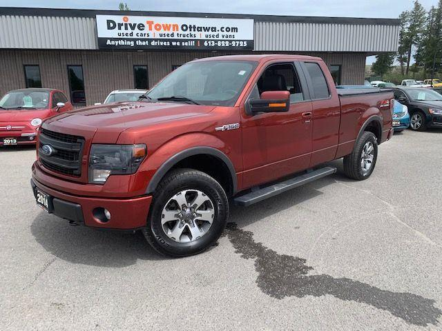 2014 Ford F-150 FX4 SUPER CAB 4X4 **NAV**LEATHER**MOONROOF**