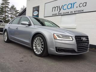 Used 2017 Audi A8 3.0T LEATHER, SUNROOF, NAV, AWD BEAUTY!! for sale in Richmond, ON