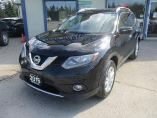 Used 2015 Nissan Rogue ALL-WHEEL DRIVE SV EDITION 5 PASSENGER 2.5L - DOHC.. NAVIGATION.. SPORT & ECO-MODE.. HEATED SEATS.. POWER SUNROOF.. BACK-UP CAMERA.. BLUETOOTH.. for sale in Bradford, ON