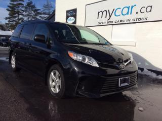 Used 2018 Toyota Sienna LE 8-Passenger PWR SLIDING DOORS, HEATED SEATS,ALLOYS, BACKUP CAM for sale in Richmond, ON