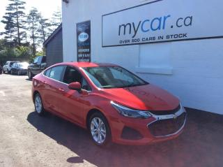Used 2019 Chevrolet Cruze LT PWR HEATED SEAT, ALLOYS, BACKUPCAM, ONLY 6K!! for sale in Richmond, ON