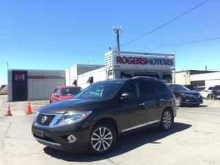 Used 2015 Nissan Pathfinder 2.99% Financing - SL 4WD - NAVI - 7 PASS - PANO ROOF for sale in Oakville, ON