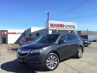 Used 2016 Acura MDX 2.99% Financing - SH AWD - NAVI - SUNROOF - TECH PKG for sale in Oakville, ON