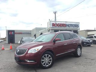 Used 2016 Buick Enclave 2.99% Financing - AWD - NAVI - 7 PASS - DVD - PANO ROOF for sale in Oakville, ON