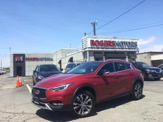 Used 2017 Infiniti QX30 2.99% Financing - AWD - NAVI - PANO ROOF - 360 CAMERA for sale in Oakville, ON