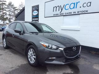 Used 2018 Mazda MAZDA3 GS NAV, HEATED SEATS, BACKUP CAM, ALLOYS!! for sale in Richmond, ON