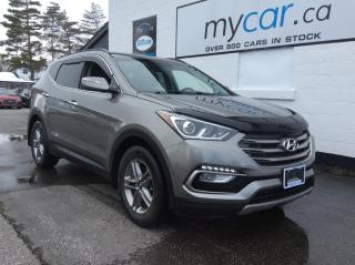 Used 2017 Hyundai Santa Fe Sport 2.4 Premium PWR HEATED SEAT, BACKUP CAM, ALLOYS!! for sale in Richmond, ON