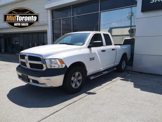 Used 2016 RAM 1500 ST Quad Cab 4WD - AC - BLUETOOTH - POWER GROUP - BEDLINER - GREAT CONDITION for sale in North York, ON