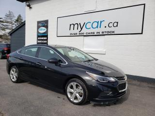 Used 2018 Chevrolet Cruze Premier Auto for sale in Richmond, ON