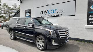 Used 2017 Cadillac Escalade ESV Luxury LEATHER, SUNROOF, NAV!! for sale in Richmond, ON