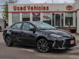 Used 2017 Toyota Corolla 4dr Sdn CVT SE | for sale in North York, ON